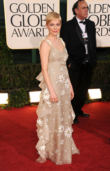 Michelle Williams Chooses Valentino For the Golden Globes