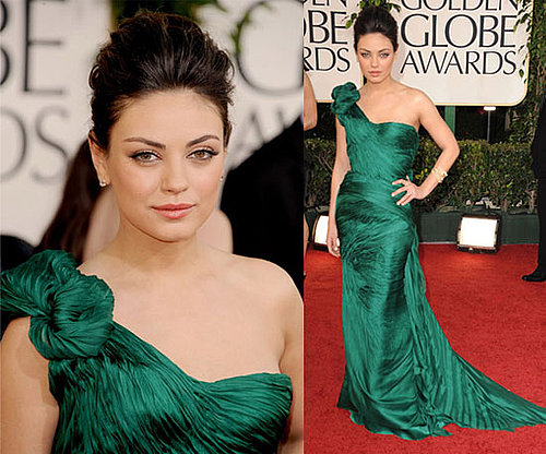 Mila Kunis at 2011 Golden Globe Awards