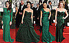 Green Dresses at the 2011 Golden Globe Awards