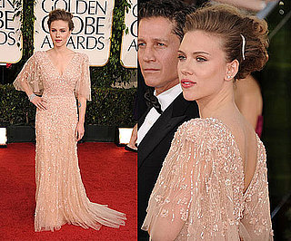 Scarlett Johansson at 2011 Golden Globe Awards
