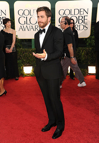 2011 Golden Globes Jake Gyllenhaal. Jake Gyllenhaal(2011 Golden