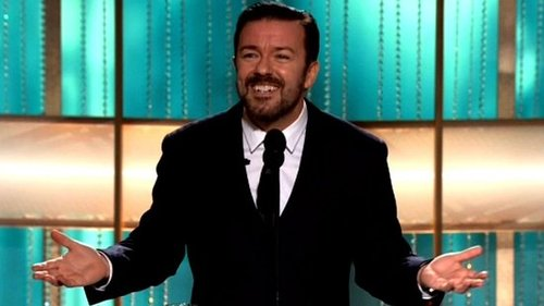 Video of Ricky Gervais Opening the 2011 Golden Globe Awards 2011-01-16 17:52:10