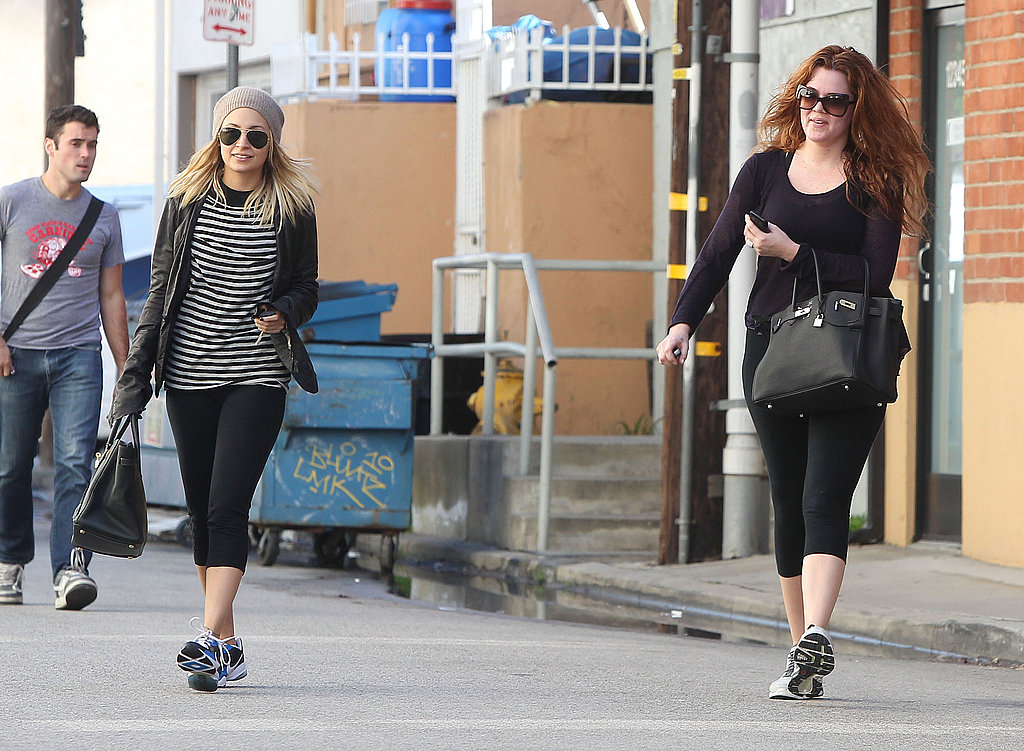 Nicole Richie and Khloe Kardashian Are Birkin Gym Buddies