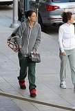 Katie Holmes Indulges Her Sweet Tooth in Sweats
