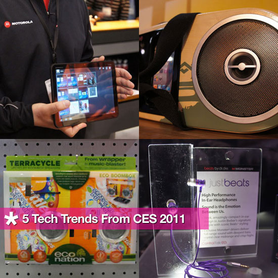 Top Tech Trends From CES 2011