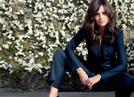 Katie Holmes Is the New Face of Ann Taylor — Check Out Her First Gorgeous Ad!
