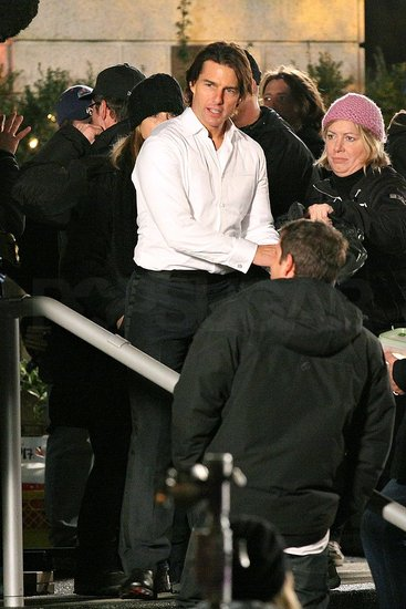 Pictures of Tom Cruise Filming Mission Impossible 4: Ghost Protocol in Vancouver