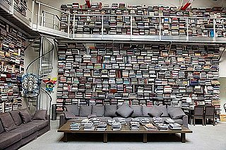 Picture of Karl Lagerfeld's Home Library