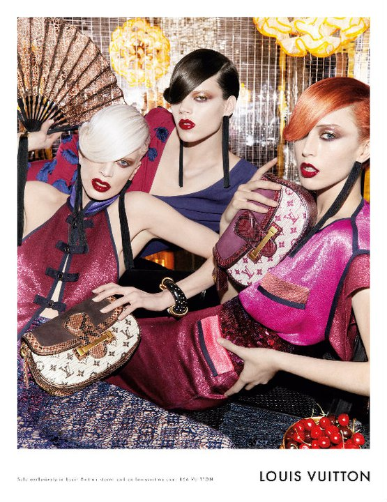 The Full Set of Two Colorful Spring 2011 Campaigns — Jil Sander and Louis Vuitton