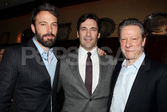 Ben Affleck Gets Cozy With Jon Hamm and Blake Lively to Toast The Town