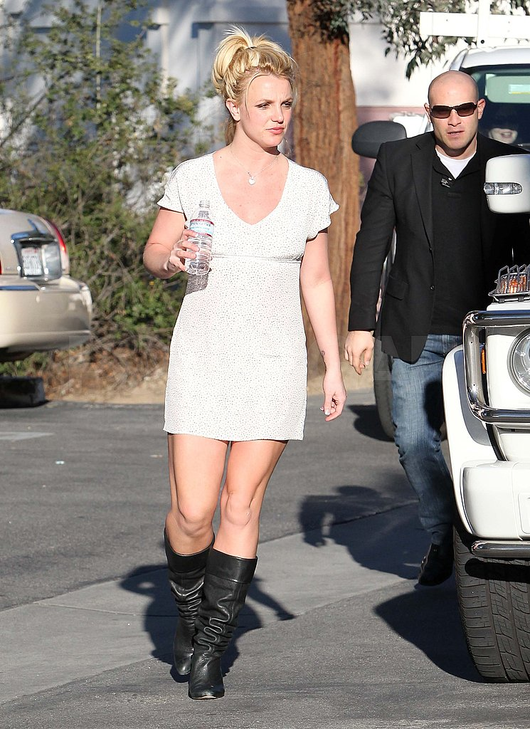 Pictures of Britney Spears Heading to a Dance Studio