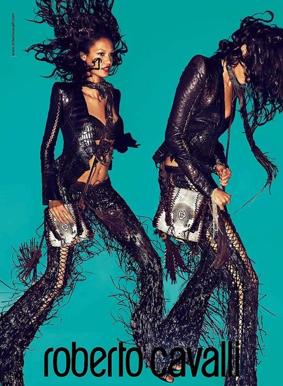 Joan Smalls for Roberto Cavalli, by Mert Alas and Marcus Piggott