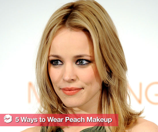 How to Wear Peach Makeup