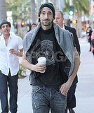 Adrien Brody Leaves His Baggage Behind to Focus on Film