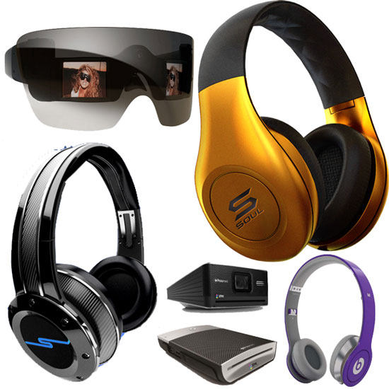 Celebrity-Endorsed Goods From CES 2011