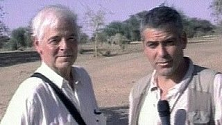 Video of George Clooney Reporting From Sudan With His Dad