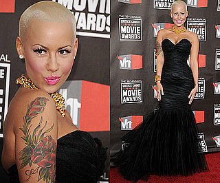 Amber Rose at 2011 Critics' Choice Awards