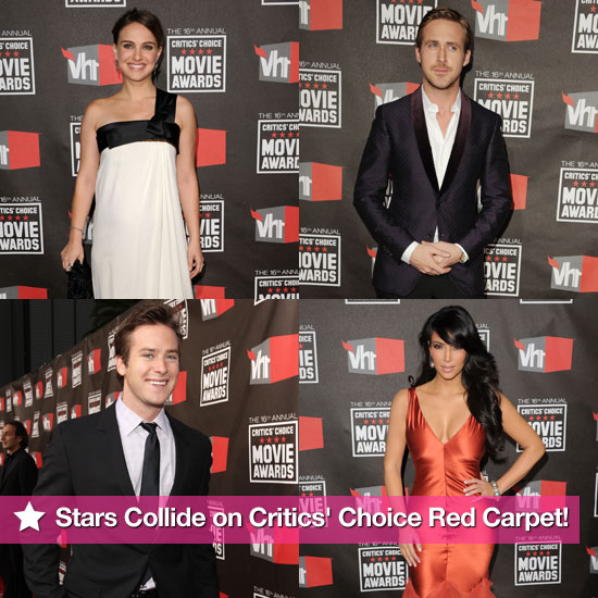 The Stars Collide on the Critics' Choice Awards Red Carpet