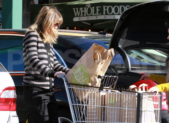 Pictures of Someone Shopping at Whole Foods