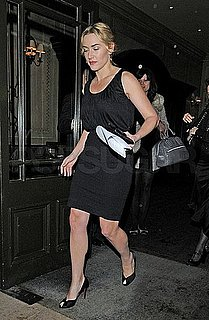 Pictures of Kate Winslet Leaving the BAFTA Headquarters in London