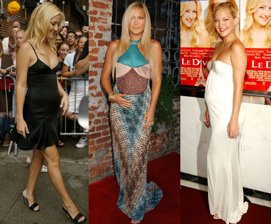 It was reported that Kate Hudson is pregnant again — see her previous pregnancy style.