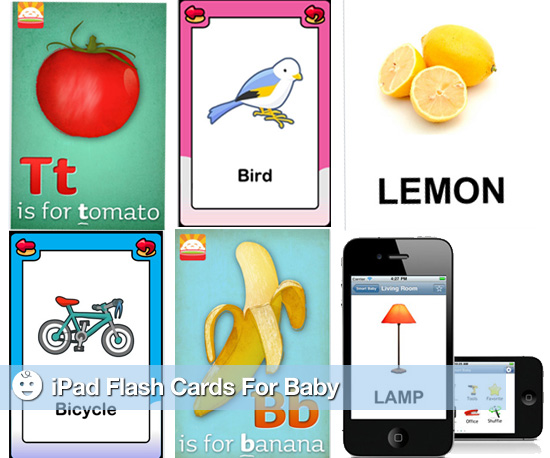iPad Flash Cards For Baby