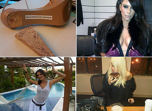 TwitPic Fun From Alessandra Ambrosio, Kim Kardashian, Lara Bingle and Henry Holland!