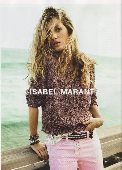 Gisele Bundchen for Isabel Marant, A Nude Freja Beha Erichsen for Chanel, Plus More of the Latest Spring 2011 Ad Campaign Images