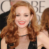 Jayma Mays at 2011 Golden Globes