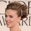 Scarlett Johansson's Golden Globes Hair Tutorial
