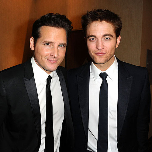 Pictures of Robert Pattinson and Peter Facinelli at Golden Globes Afterparties
