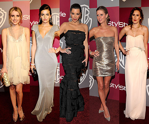 Stars Shine On at Instyle's Golden Globes Afterparty