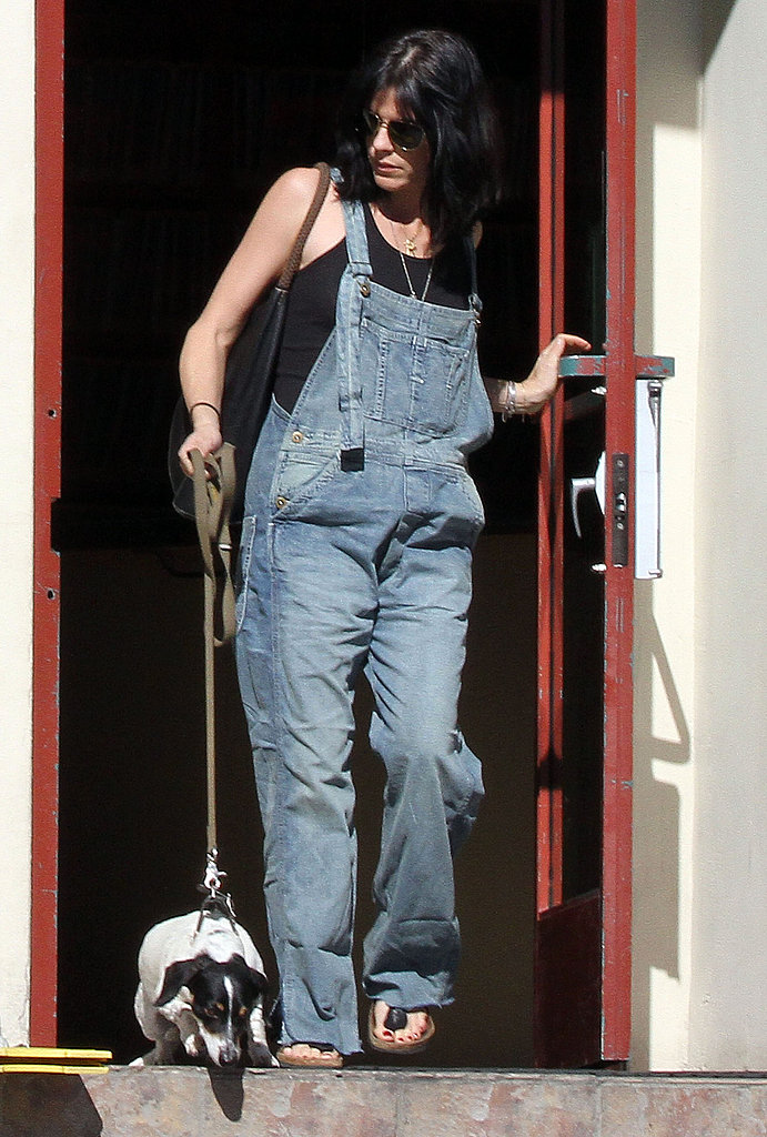 Pictures of Pregnant Selma Blair With Her Dog in LA