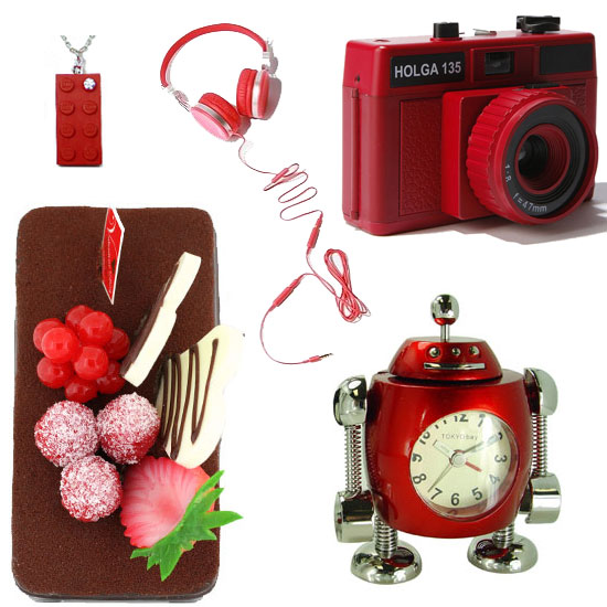 Red Gadgets For Valentine's Day