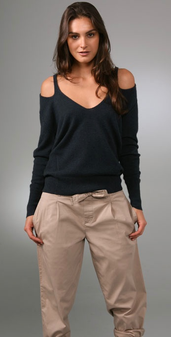 Oonagh by Nanette Lepore Santo V Neck Sweater ($174, originally $248)