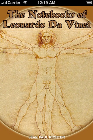 No. 6 The Notebooks of Leonardo Da Vinci