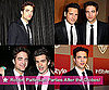 Twilight Stars Robert Pattinson and Peter Facinelli at Golden Globes After Parties