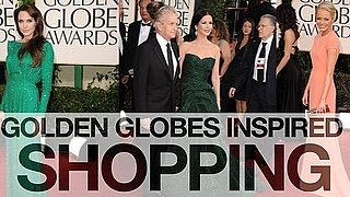 Angelina Jolie, Mila Kunis, Emma Stone 2011 Golden Globes red carpet fashion