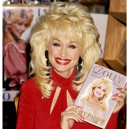 Wearing long layers and even longer fingernails to promote her first autobiography in 1994.