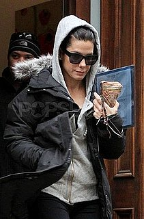 Pictures of Sandra Bullock Leaving Her NYC Apartment in Athletic Gear