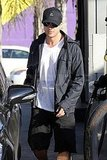 Pictures of Ryan Phillippe Filling Up at a Gas Station in LA