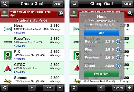 Cheap Gas 10 Apps that Can Cut Your Monthly Bills