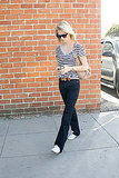 Pictures of January Jones Shopping in Los Angeles After Splitting From Jason Sudeikis