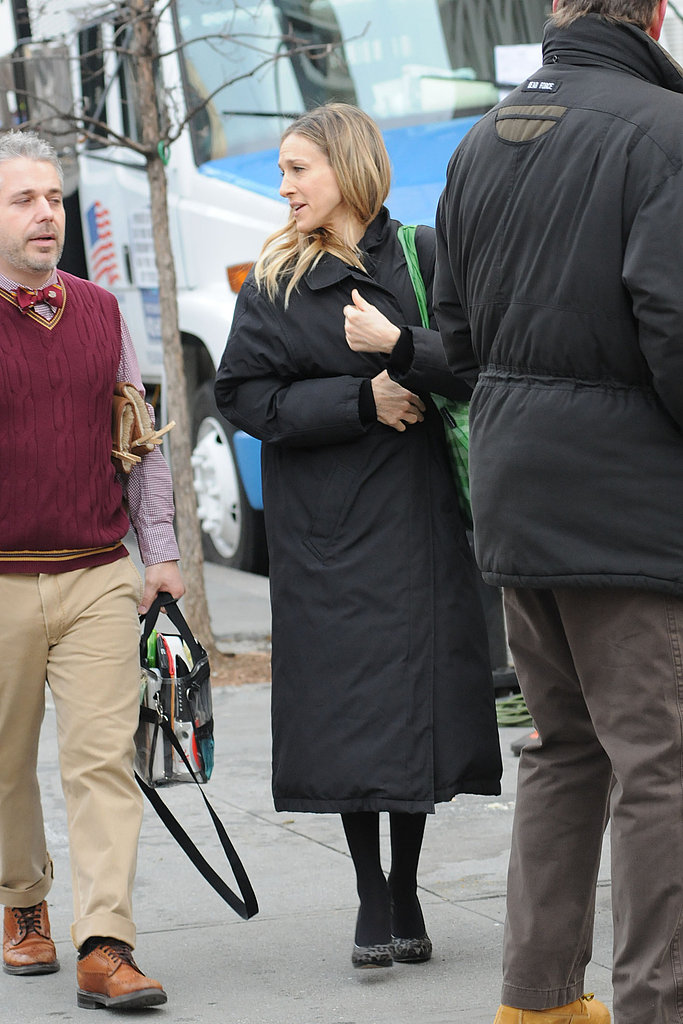SJP Steps on Set With Her Newest Costar Kelsey Grammer