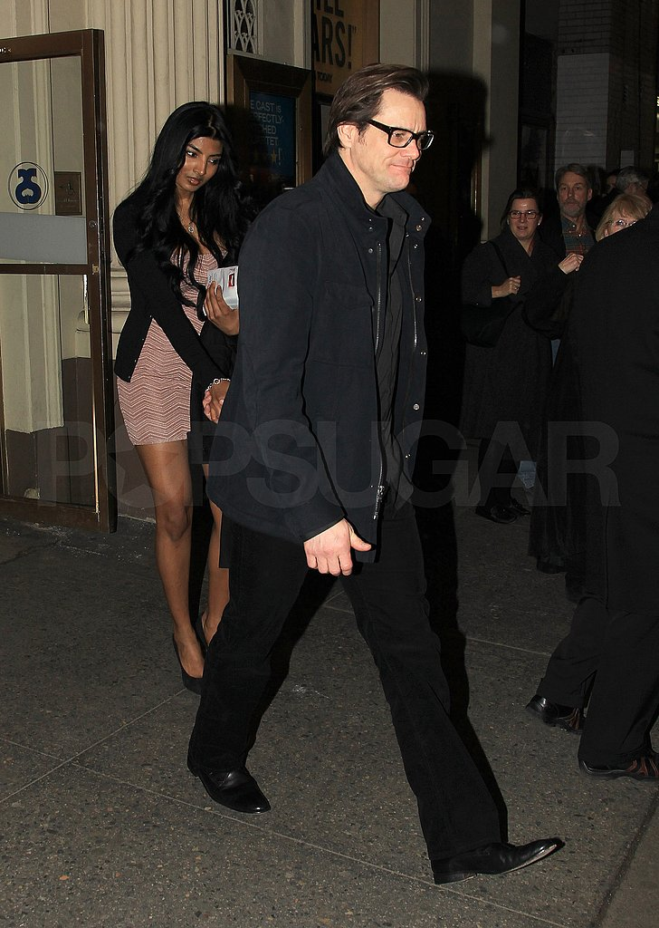 Pictures of Jim Carrey Out With 24-Year-Old Model Anchal Joseph