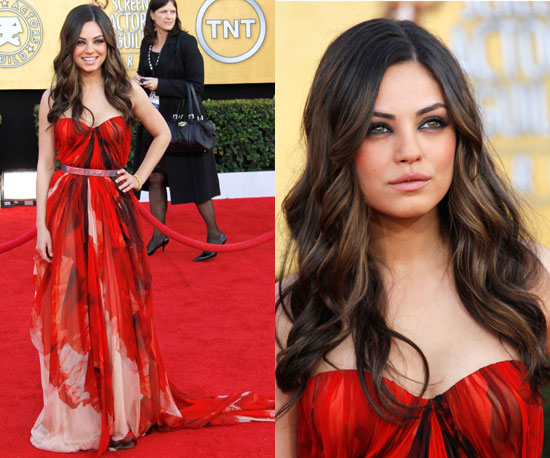Mila Kunis at 2011 SAG Awards