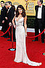 Pictures of Lea Michele Arriving in Oscar de la Renta at the 2011 Screen Actors Guild Awards 2011-01-30 17:09:45