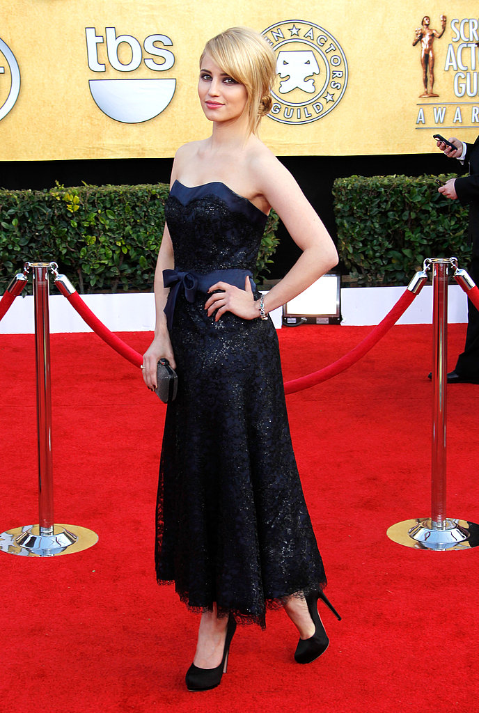 Glee's Dianna Agron Hits a High Note at the SAG Awards!