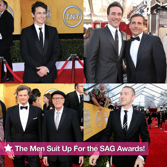The Men Suit Up For the SAG Awards!