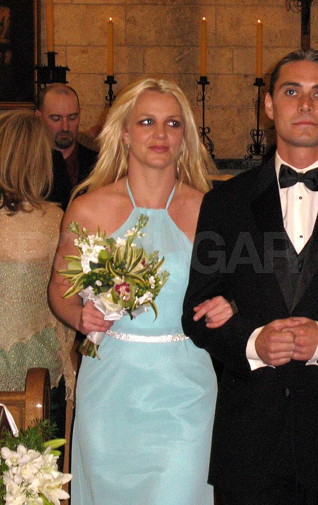 Britney Spears Walks Down the Aisle as a Bridesmaid